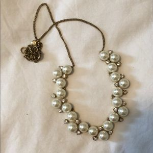Faux Pearl and J Crew necklace